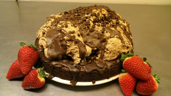 Chef Moe's Chocolate Volcano Cake