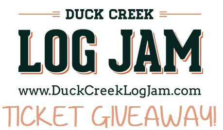 HOCKING HILLS DUCK CREEK LOG JAM TICKET GIVEAWAY