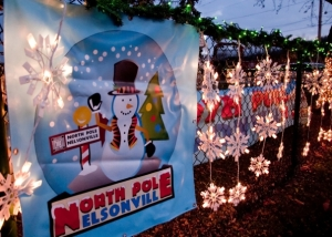 Visit Santa at North Pole Nelsonville (Photo courtesy AthensOhio.com)